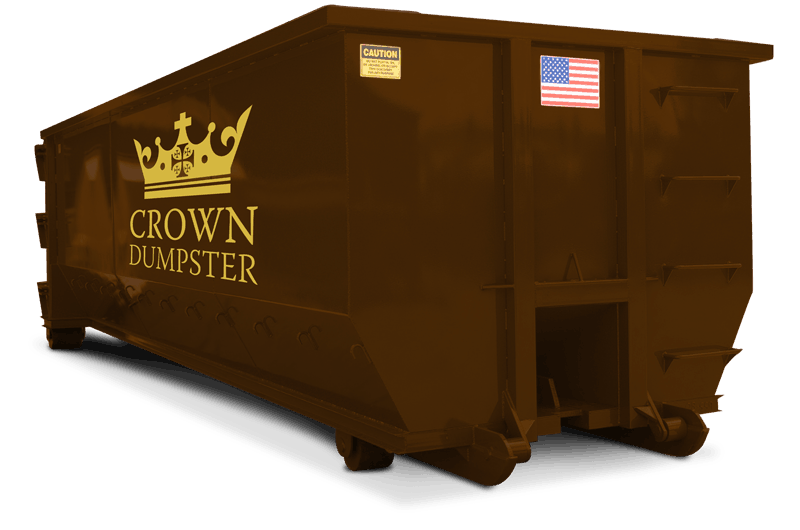 Crown Dumpster 20 Yard Dumpster Containers